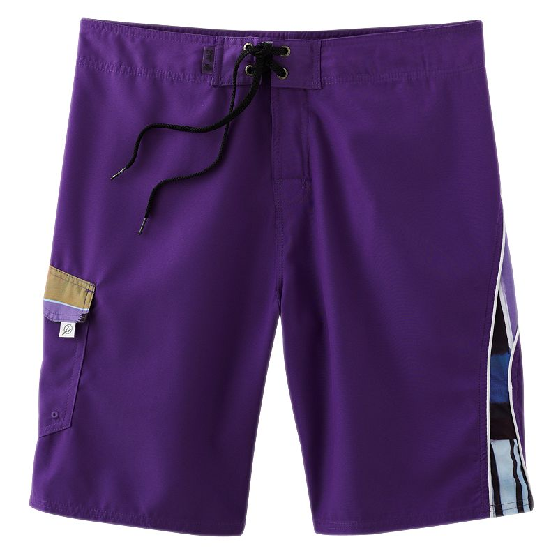 Men's Beach Rays Color Print Board Shorts