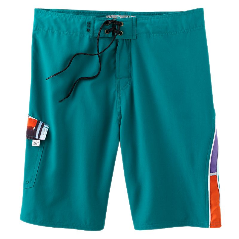 Men's Beach Rays Color Print Board Shorts