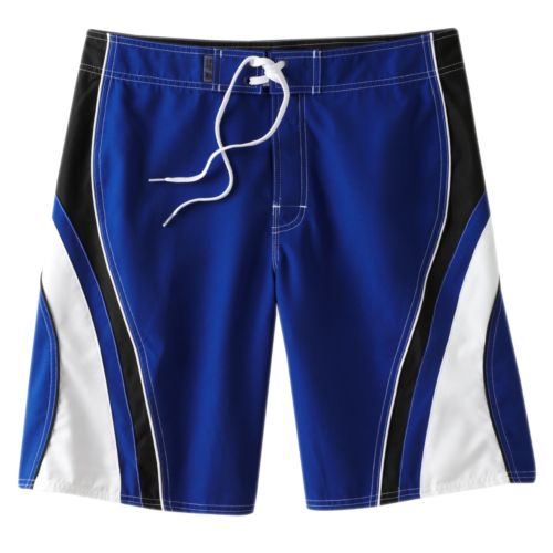 Men's Beach Rays Color Splice Board Shorts