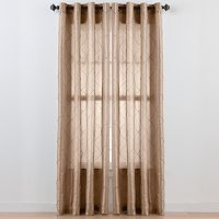 Beatrice Home Fashions Pintuck Window Panel - 52