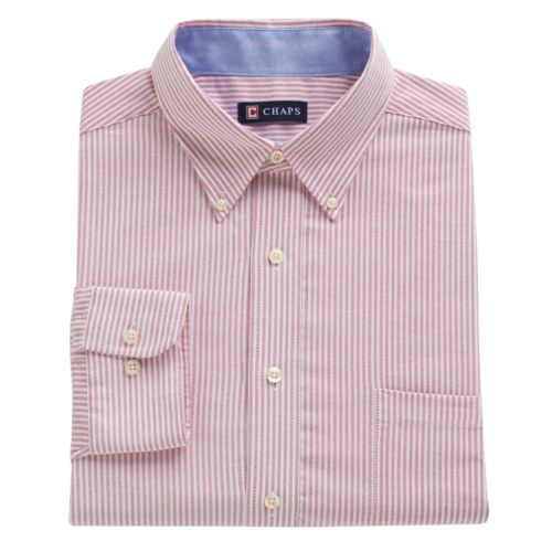 Men's Chaps Classic-Fit Oxford Button-Down Collar Dress Shirt