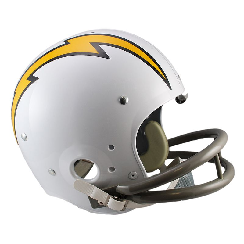 Riddell San Diego Chargers 61 - 73 Throwback Replica Helmet