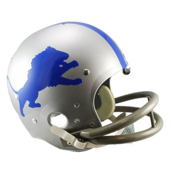 Riddell Detroit Lions 62 - 68 Throwback Replica Helmet