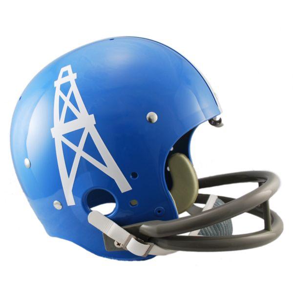 Riddell Houston Oilers 60 - 62 Throwback Replica Helmet