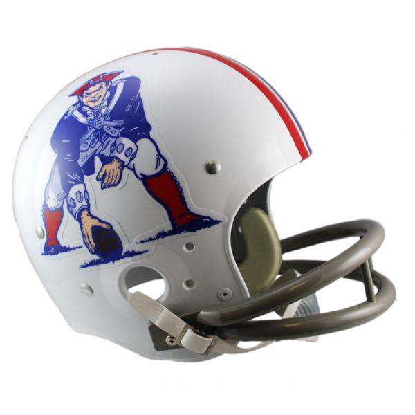 Riddell New England Patriots 65 - 81 Throwback Replica Helmet