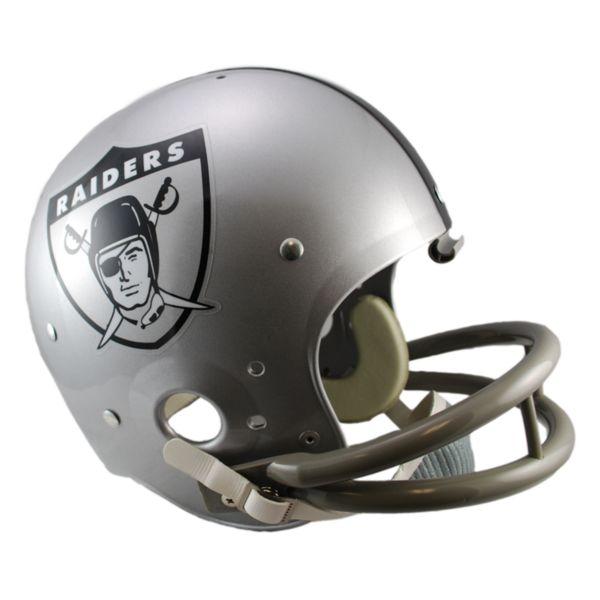Riddell Oakland Raiders 63 Throwback Replica Helmet