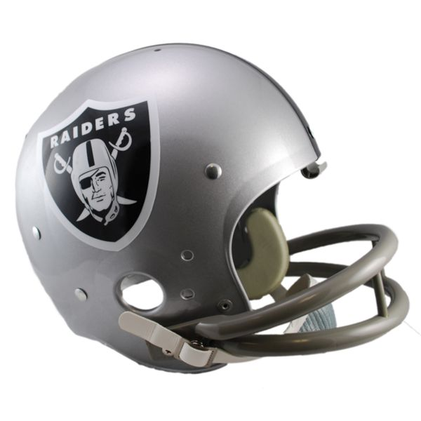 Riddell Oakland Raiders 64 Throwback Replica Helmet