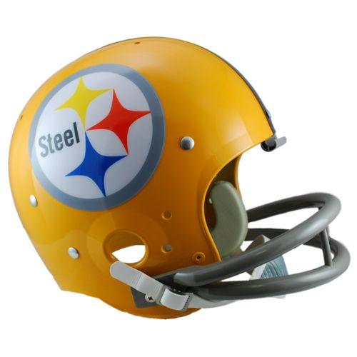 Riddell Pittsburgh Steelers 62 Throwback Replica Helmet