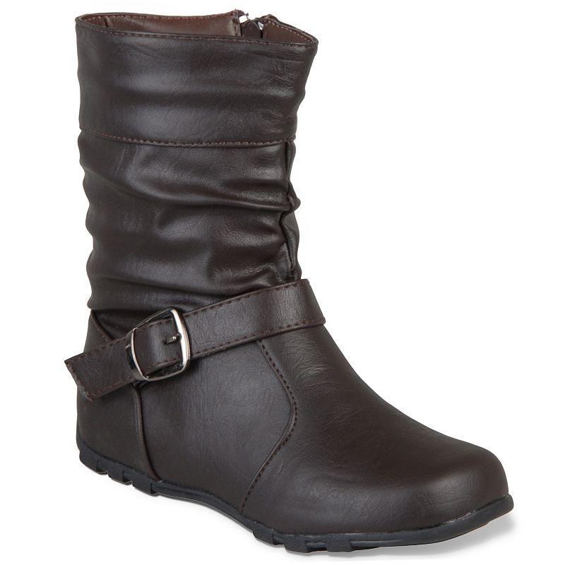 Journee Collection Katie Midcalf Boots - Girls