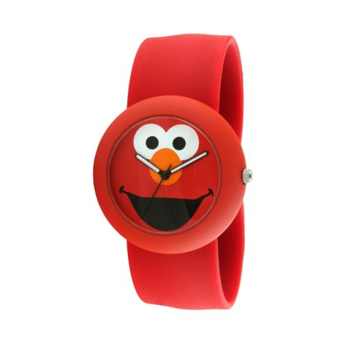 Sesame Street Elmo Red Silicone Slap Watch - SW613EL