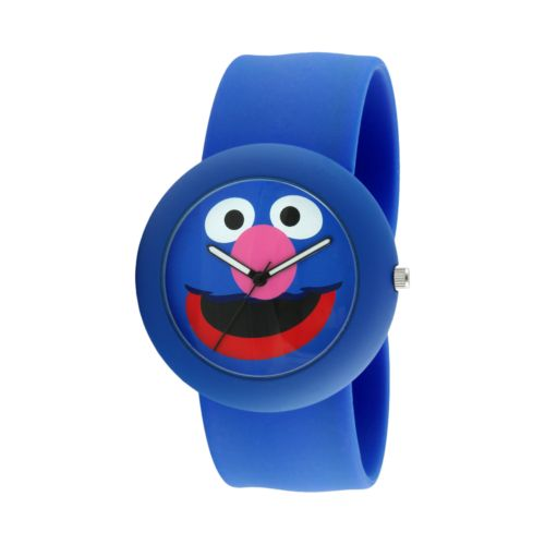 Sesame Street Grover Blue Silicone Slap Watch - SW613GR - Kids