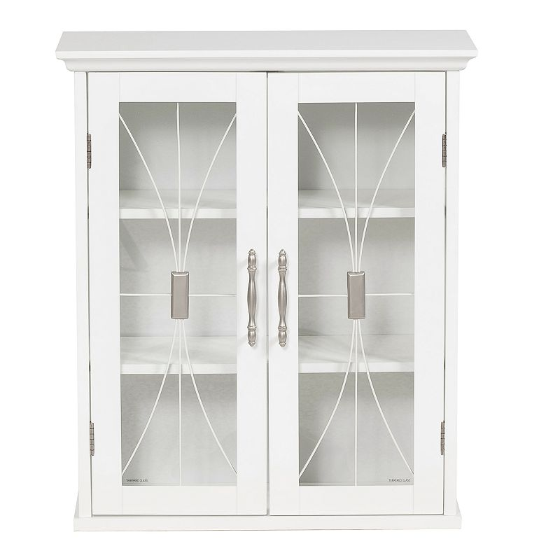 Elegant Home Fashions Rose Wall Cabinet