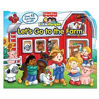 Fisher-Price Little People Let's Go to the Farm Flap Book