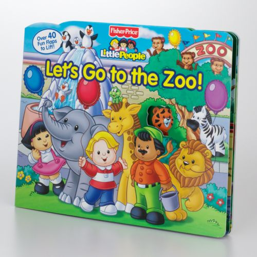 Fisher-Price Little People Let's Go to the Zoo! Lift-the-Flap Book