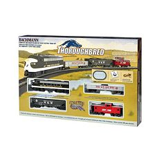 Bachmann HO Scale Thoroughbred Train Set by