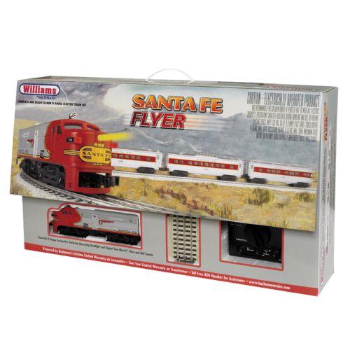 Bachmann Santa Fe Flyer O Scale Electric Train Set