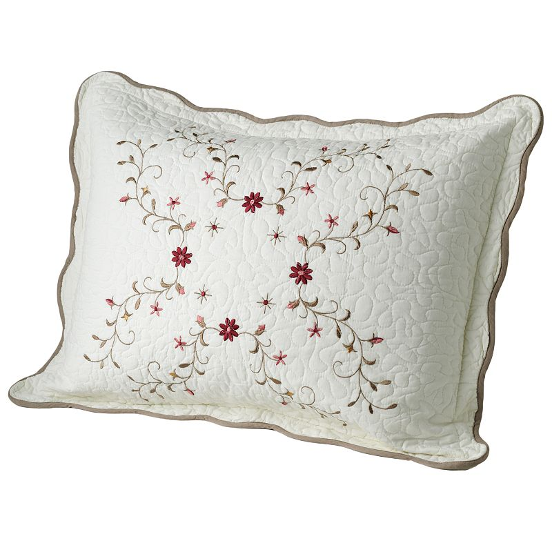 Home Classics® Amelia Quilted Sham - Standard