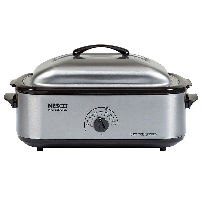 Nesco 4818-25PR 18-qt. Stainless Steel Roaster Oven