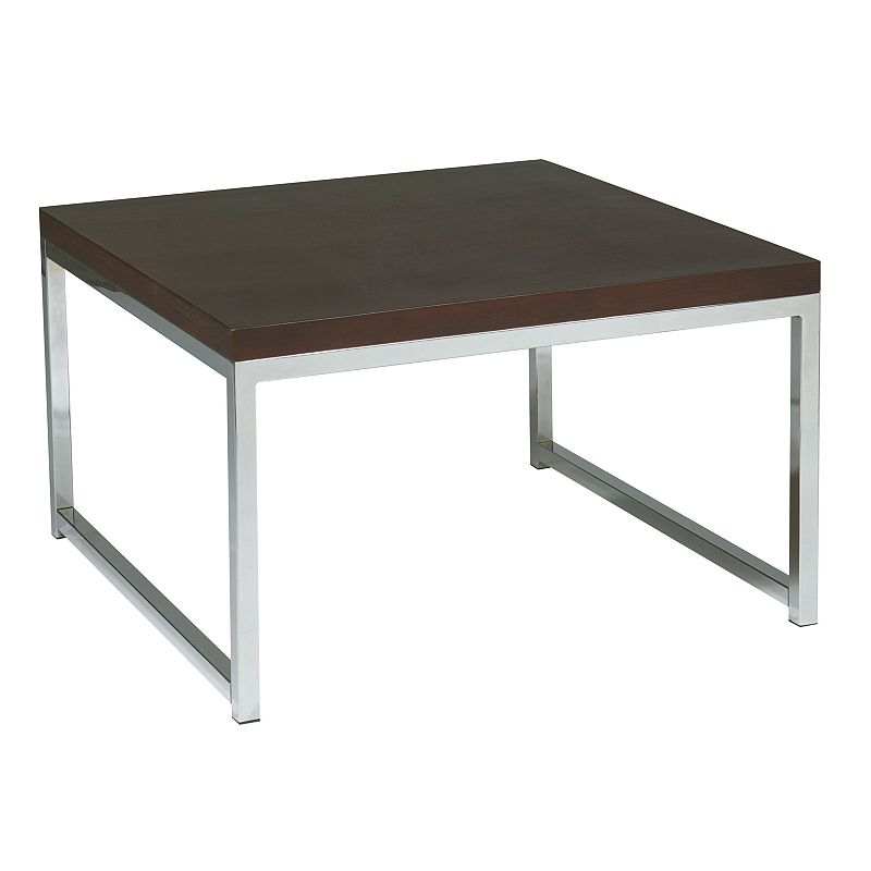 Office Star Products Avenue Six Wall Street Accent Table
