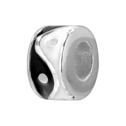 Individuality Beads Sterling Silver Yin-Yang Bead