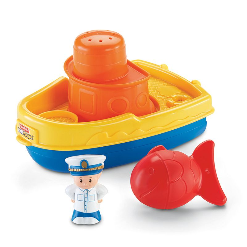 Fisher-Price Little People Play 'n Float Boat Playset