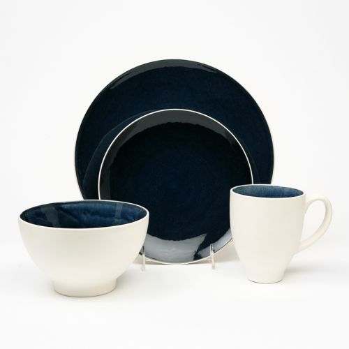 Baum Max Cobalt 16-pc. Dinnerware Set