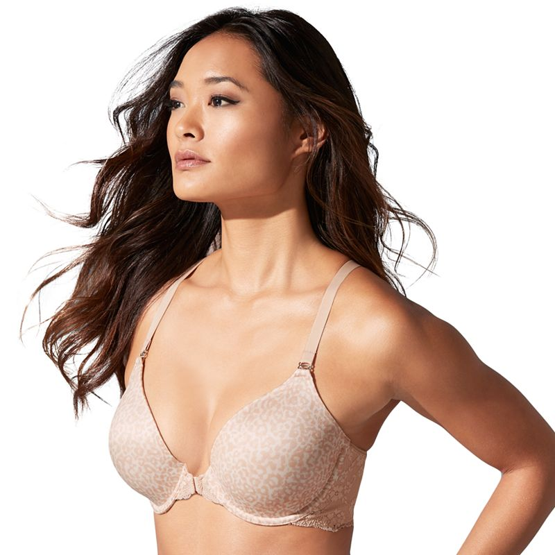 Maidenform Bra: One Fab Fit Extra-Coverage Lace T-Back Bra 7112