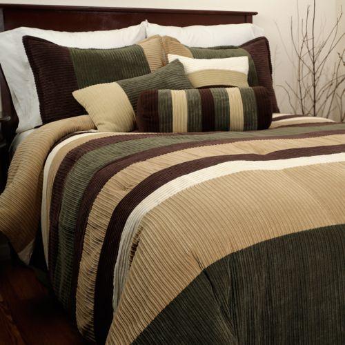 Hudson Street Geo 7-pc. Comforter Set - Queen