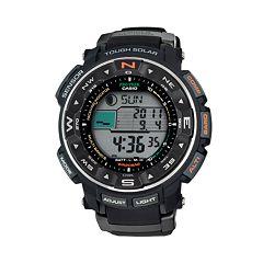 Casio Men's PRO TREK Atomic Solar Digital Chronograph Watch PRW2500R-1CR