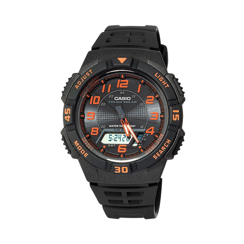 Casio Men's Sport Tough Solar Analog & Digital Chronograph Watch - AQS800W- 1B2VCFK