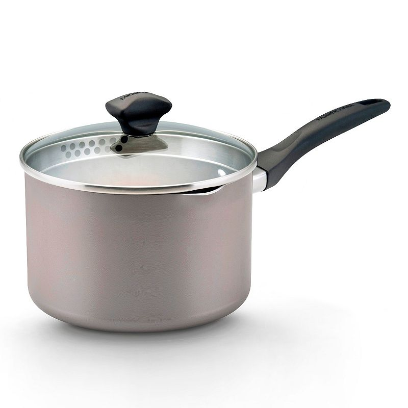 Farberware 3-qt. Nonstick Straining Saucepan