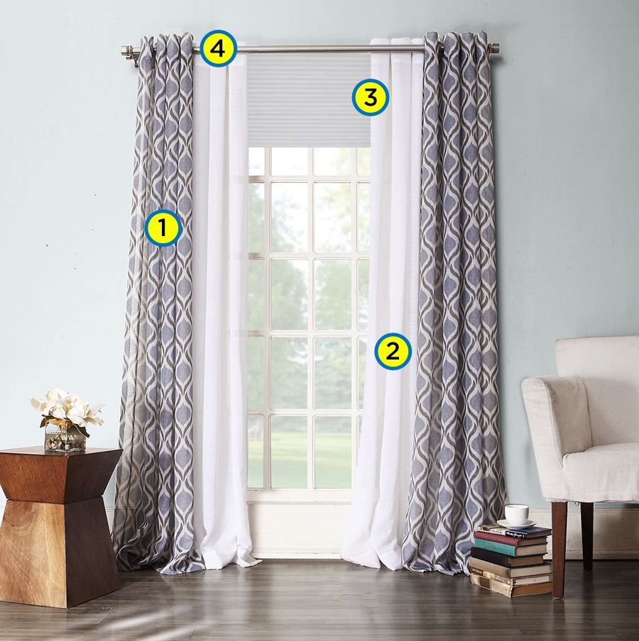 Decorating Windows: Creating Layered Window Treatments | Kohl