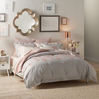 LC Lauren Conrad Hannah Duvet Cover Collection