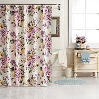 LC Lauren Conrad Rose Garden Shower Curtain Collection