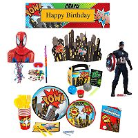 Superhero Comics Party Collection