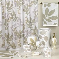 Creative Bath Shadow Leaves Shower Curtain Collection