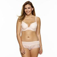 Paramour by Felina Carolina Lace-Trim Bra & Panties