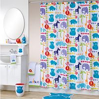 Allure Home Creations Safari Animal Shower Curtain Collection
