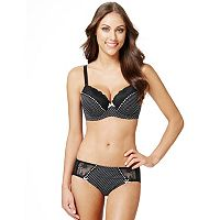Perfects Australia Anna Polka-Dot Bra & Panties Lingerie Separates