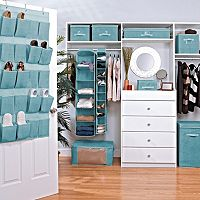Simplify Dusty Blue Bedroom Storage Collection
