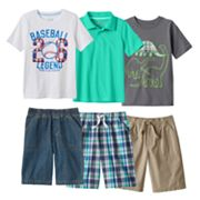 Boys 4-7x Jumping Beans® Casual Mix & Match Outfits