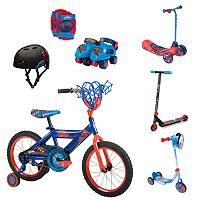 Youth Marvel Spider-Man Pedal, Push & Protect Collection