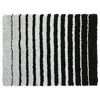 SPACES Home & Beyond by Welspun Teddy Striped Shag Rug