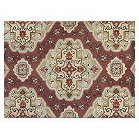 SPACES Home & Beyond by Welspun Red Medallion Rug