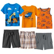 Baby Boy Jumping Beans® Construction Mix & Match Outfits