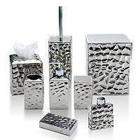 Taymor Chrome Crush Bathroom Accessories Collection