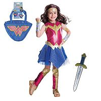 Kids DC Comics Wonder Woman Mix & Match Costume Collection