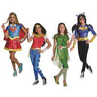 Kids DC Super Hero Girls Costume Collection