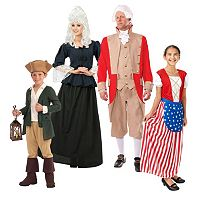 Colonial America Costume Collection