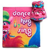 DreamWorks Trolls Hair Hugfest Bath Towel Collection